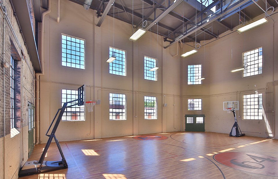 Indoor Basketball Court The Downtown Winston Salem Partnership