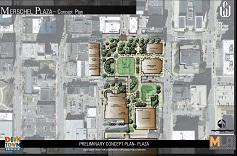 Merschel Plaza Concept Plan
