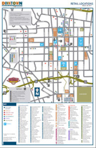 downtown retail map